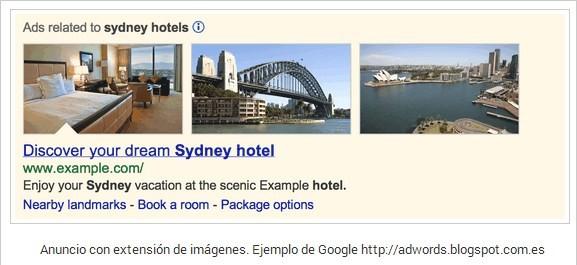 anuncios relacionados Google Adwords