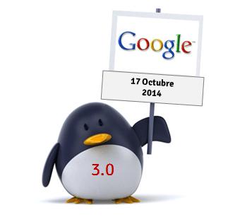 Nuevo Google Penguin Octubre 2014