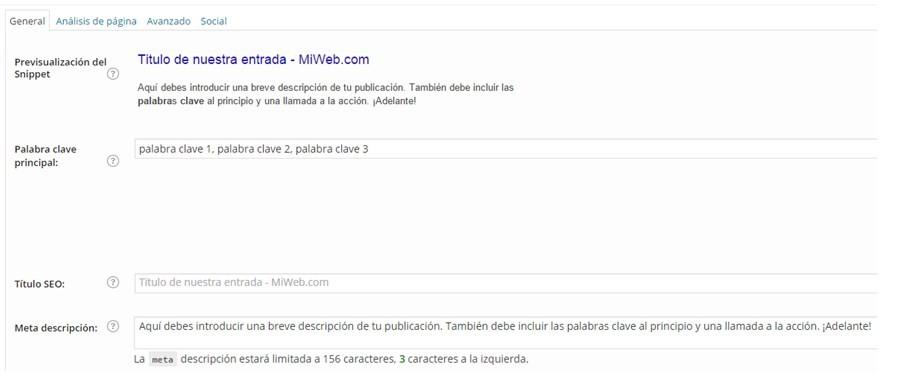 plug-in WordPress SEO