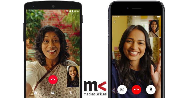 Las videollamadas de WhatsApp ya son una realidad