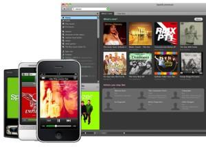 Captura de pantalla de Spotify Premium