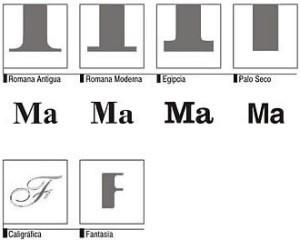 Ejemplos de tipografías