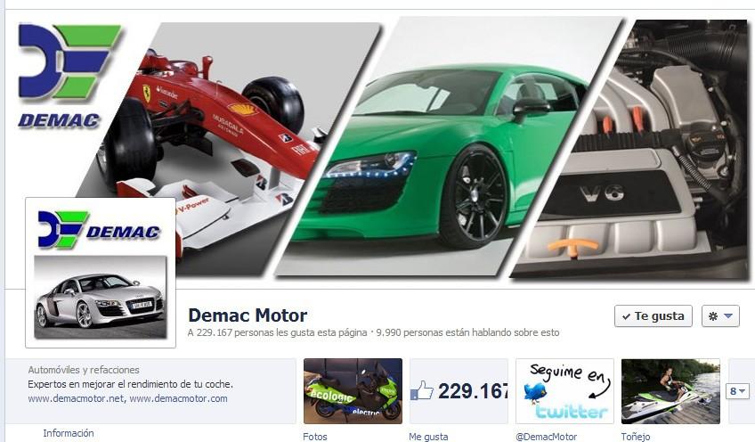 Facebook Demac Motor - Mediaclicik