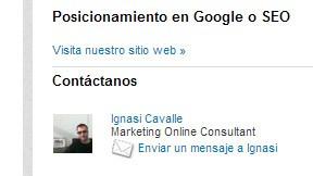 SEO Linkedin - como generar contactos comerciales - Mediaclick