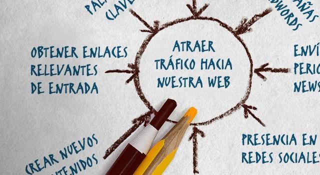 atraer tráfico hacia nuestra web