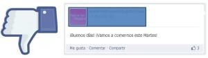 Facebook, no me gusta -mediaclick.es