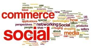 Social Commerce mapa de palabras
