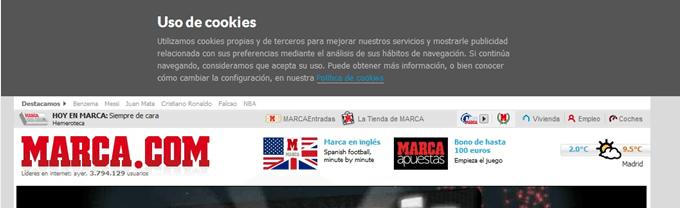 marca web ejemplo