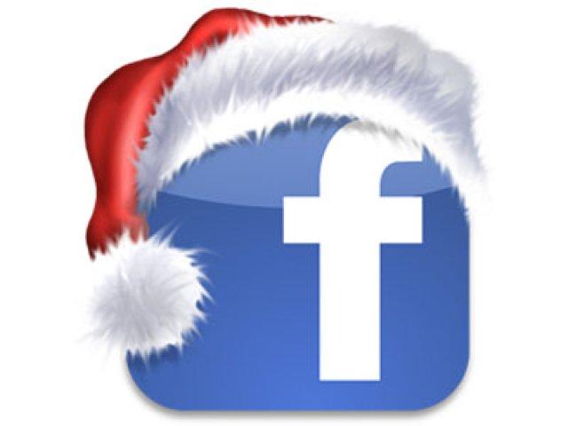 Felicitación Navidad Facebook
