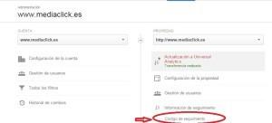 Google Analytics seguimiento