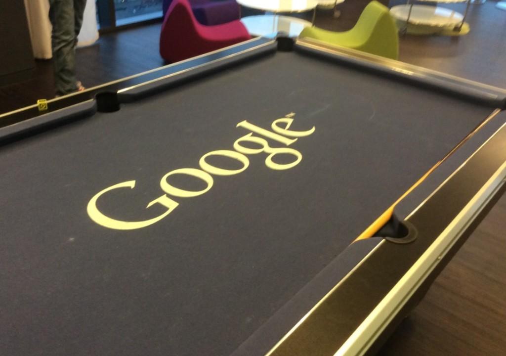 Billar Google oficinas, mediaclick