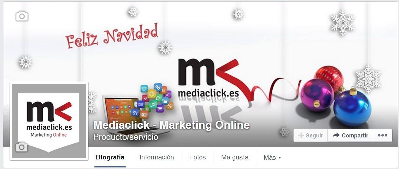 portada de facebook de mediaclick