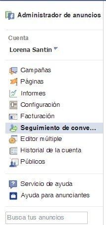 seguimiento conversiones en facebook ads