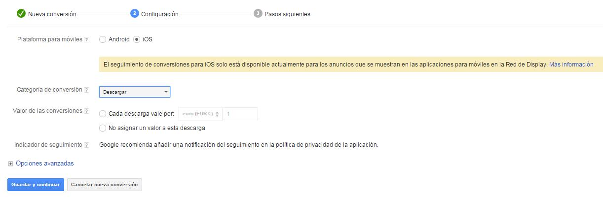 conversion aplicacion ios