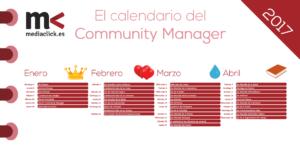 Calendario de eventos de 2017 imprescindible para los Community Manager
