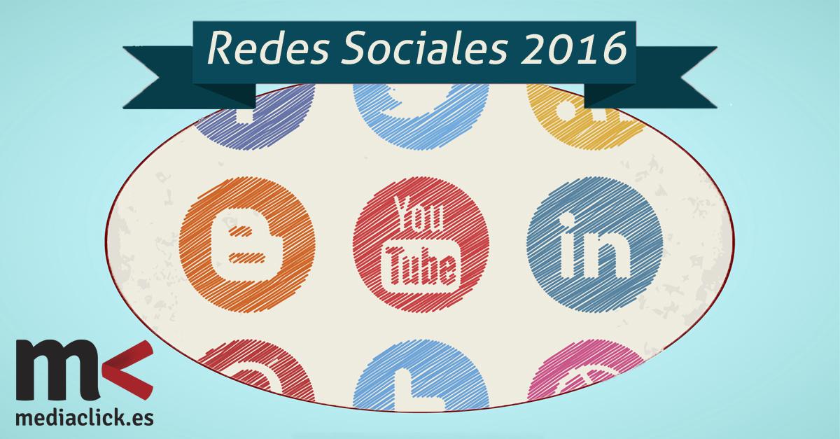 ¿Cuáles han sido los cambios en redes sociales en este 2016?