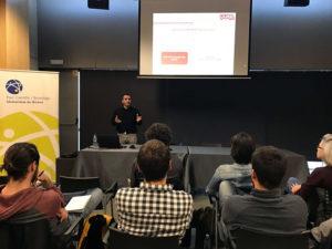 Ignasi Cavallé, ceo de Mediaclick, en la ponencia de presencia digital en el Santander Yuzz