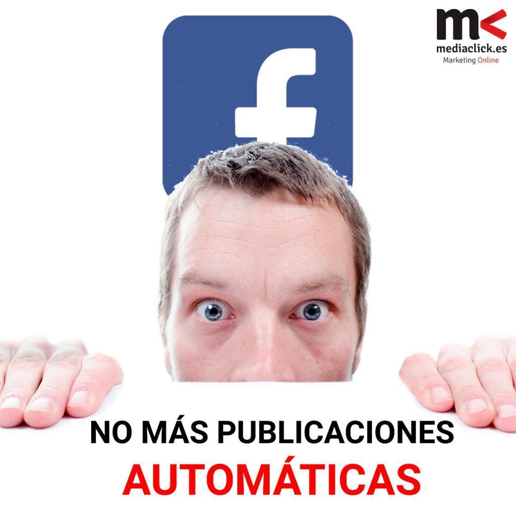 FACEBOOK publicaciones automática. Mediaclick